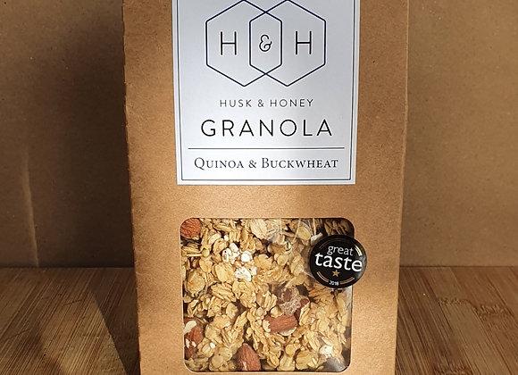 Husk & Honey Granola - Quinoa & Buckwheat
