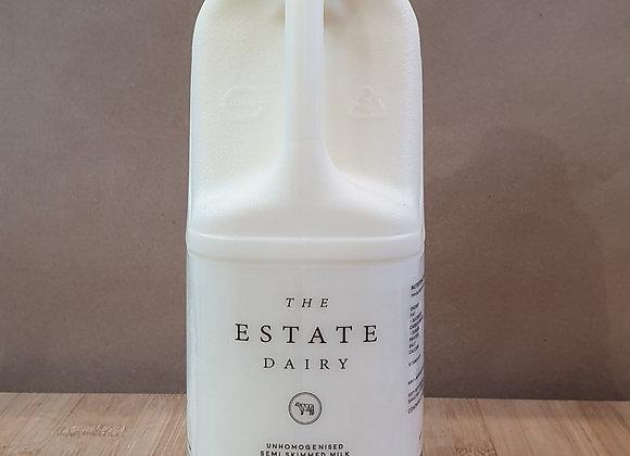 Estate Dairy Milk - Semi Skimmed 2L