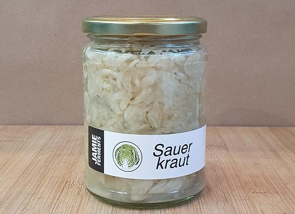Jamie Ferments - Sauerkraut