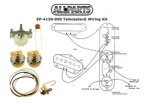 KIT DE CABLEADO PARA TELECASTER