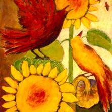 Sun Birds VII