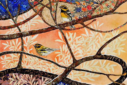 Infinitree - Townsend's Warblers, highest quality Giclée reproduction