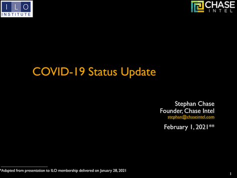 The Very Latest on COVID-19