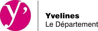 Tous en selle - Logo Département Yveline