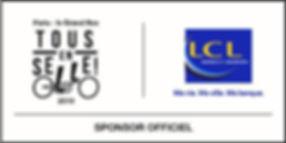 Tous en selle - LCL Sponsors officiel