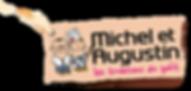 Tous en selle - Logo Michel et Augustin