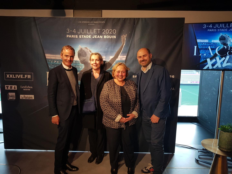 Conférence de presse officielle du Lac des Cygnes XXLive ! Merci Franck Ferrand ;)