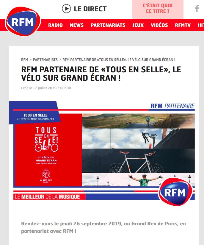 RFM - Juillet 2019