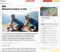 L'ÉQUIPE - Septembre 2019
