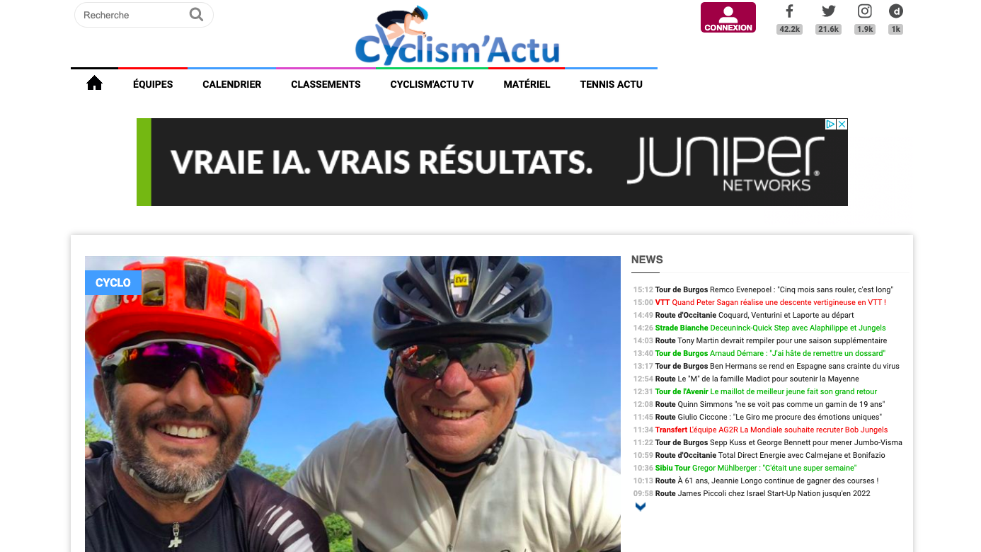 Cyclism'actu - Juillet 2020