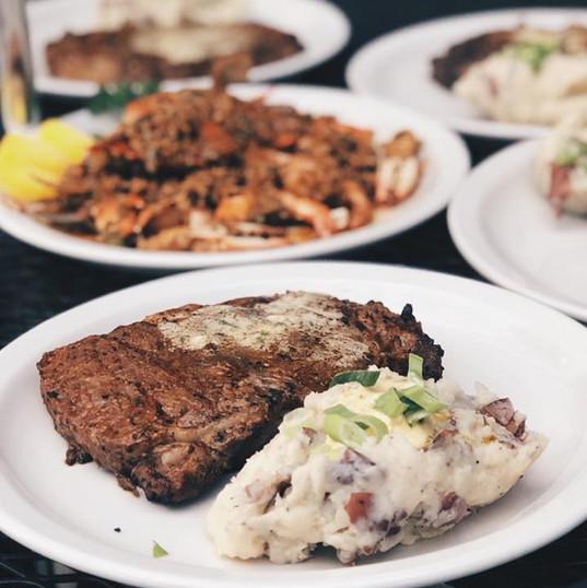 Steak + Louie's Sauteed Platter