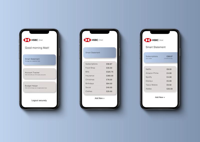 HSBC Smart App Design