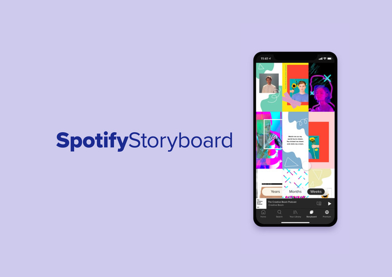 Spotify Storyboard - D&AD Submission