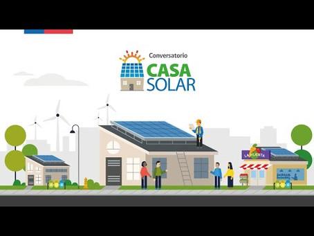 Casa Solar: Ministerio de Energía lanza este martes el programa Casa Solar