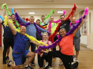 Formby male dance group forms to raise funds for Rainbow House at the Paradise Ball