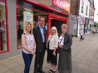 "Iceland urged to ""do the right thing"" on staff pay during upcoming Formby store refurbishm"