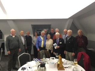 Formby Rotary Club welcome new member and speaker