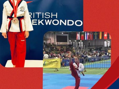 Olivia McGeoch – Unite Formby - selected to join the GB Taekwondo Team