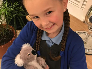 Lucie from Woodlands Primary School is helping the injured Koalas by holding a fundraising event tom