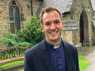 New Vicar at St Lukes Church Formby