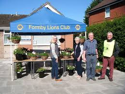Hanging Basket sale to raise funds for Formby Luncheon Club