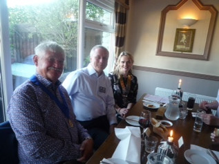 Formby Rotary welcome new president