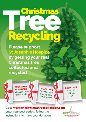 Book now for hospice Christmas tree collection