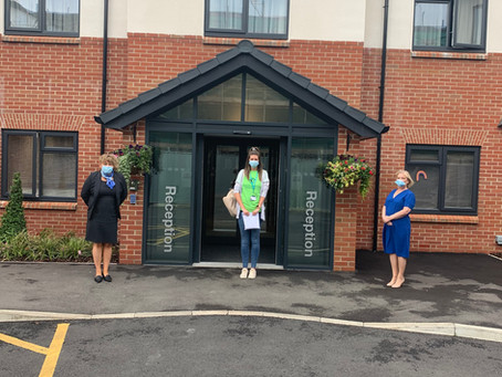 Formby Manor raises cash for Clatterbridge Cancer Care