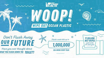 How to Wipe Out Ocean Plastic - even when on lock down!