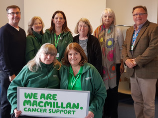 Macmillan to hold event for people affected by cancer