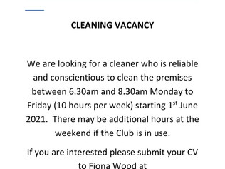 Vacancy with The Luncheon Club