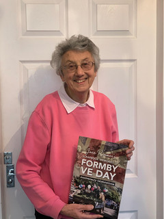 Joan Rimmer's Scrapbook Memories of Formby VE Day Celebrations 25 years ago in Formby