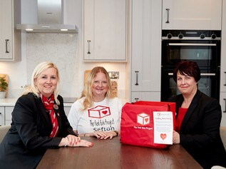 Redrow supports the Formby period poverty charity