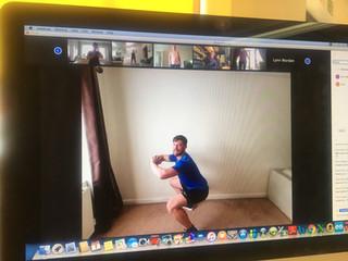 Rainbow Hub's first virtual Workout-Athon on target to raise more than £1,700