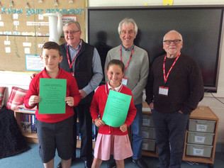 St Jerome's School Chess Event hailed a Great Success as Formby Chess Men go back to school