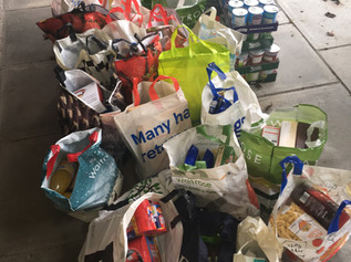 Councillor leads Labour drive for food bank supplies