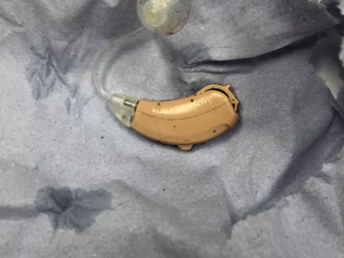 Hearing aid found in Formby