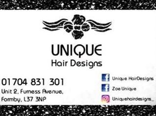 Hairdresser vacancy with Unique Hair Designs