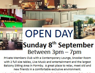 Formby Club hold to hold an open day