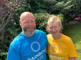 Formby couple raise over £1200 for charity supporting children with disabilities