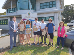 Range High School Pupils Celebrate A-Level Results