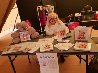 Come and meet the author of The Antics of Mrs Paws and get your book signed