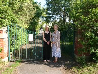 Formby councillors take action to prevent illegal access to Duke Street park