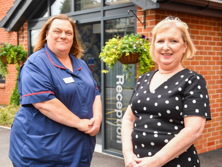 Debra and Diane take the lead at Formby Manor