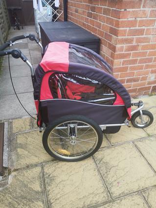 Children's bike trailer for sale