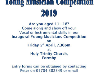 Formby Rotary and Formby Squirrels to hold young musician competition