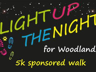 Woodlands Hospice Light up the Night Walk - Saturday 12th October 2019