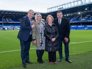 Formby lady's football wish comes true
