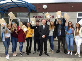 Range High School Pupils Celebrate GCSE Results