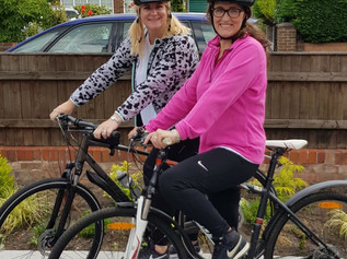 Formby psychotherapist undertakes epic cycling challenge with best friend for charity